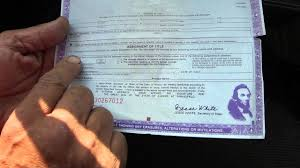 Fake Car Title Templates Re Done Re Edited How To Transfer A Car Title In Illinois He Did Work For A Ford Explorer Part 5