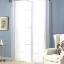 new free 1 piece sheer white voile scarf curtain panel sets curtains extra wide long in from home garden on pairs