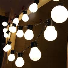 Big Bulb String Lights Us 17 5 20 Off 5m 20leds String Lights 8 Types Playing Mode With 5cm Big Bulb Indoor Outdoor Decoration Christmas Holiday Party Festival Lamp In