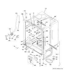 Ge model gld5606v00ww dishwasher genuine parts