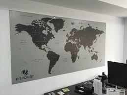 Magnetic World Map Interior Office Signage Windsor
