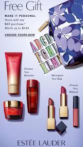 receive your choice of 7 piece bonus gift with your 45 estée lauder purchase