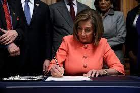 Nancy Pelosi moves forward with effort ...