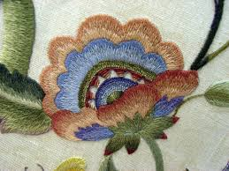 Free Wing Needle Embroidery Designs Crewel Embroidery Room Divider From The Collection Of The