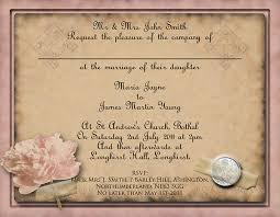 Easy Invitation Templates 41 Free Wedding Invitation Templates Which Are Useful