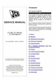 Jcb Tlt 30d Tlt 30d 4x4 Tlt 30d High Lift Teletruck