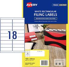 Labels L7172 Laser Ringbinder Spine Label 18 Per Sheet