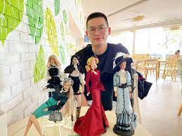 """Ngất ngây"""" với bộ sưu tập búp bê của chàng trai 9x - Báo Tây Ninh Online"""