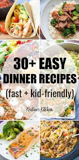 the best quick and easy meals for families these healthy dinners are perfect for kids