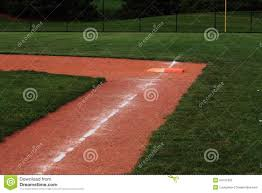 softball field double first base stock photo image 54161095 softball field double first base