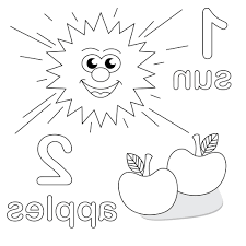 Educational Coloring Pages - coloringsuite.com