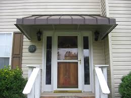 build your own front door awning exterior overhang porch