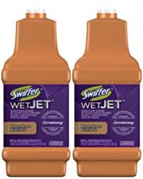 swiffer wetjet on hardwood floors
