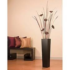 Small Picture Metal Floor Vase for sticks 30 35 Target Threshold