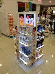 Make Up Stands And Displays Enchanting Cosmetics Display Stand Instore Promotional Lighting Makeup Display