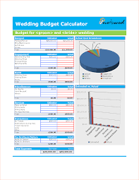 Wedding Budget Calculator Budget Calculator Excel Cityesporaco 15
