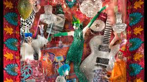 Bergdorf Goodman Window Designer Bergdorf Goodman Unveils Its Swarovski Crystal Holiday