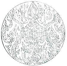 Difficult Mandalas Free Mandala Coloring Pages To Print Printable