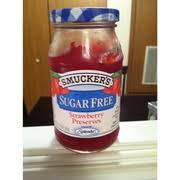 smucker s sugar free strawberry preserves nutrition