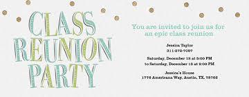 Class Party Invitation Free Reunion Invitations Class Family Reunion Invitations Evite