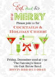 Superb Christmas Cocktail Party Invites Part - 1: Christmas Cocktail Party  Invitations To Create Your