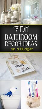 Diy Bathroom Decor Diy Bathroom Decor Ideas On A Budget