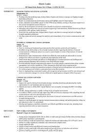Communications Resume Sample Communications Advisor Resume Samples Velvet Jobs 39