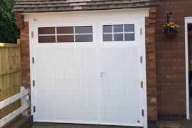 Full Size of Garage Door:garage Side Door With Window Hung Pair H W  Departments Bq ...