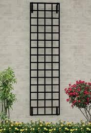 modern wall mounted trellis made of
