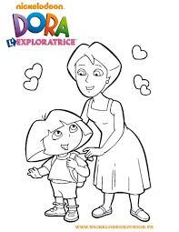Coloriage Dora Et Sa Maman L L L L L L L