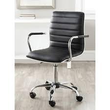 black desk chair. Amazon.com: Safavieh Home Collection Jonika Black Desk Chair: Kitchen \u0026 Dining Chair