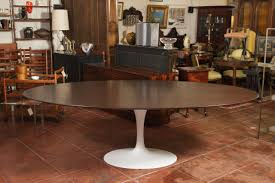 contempo saarinen oval dining table for your fancy dining room decor wondrous big saarinen oval