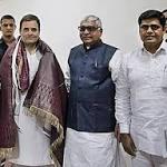 Adilabad Cong leaders meet Rahul Gandhi