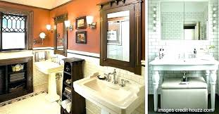 small bathroom with pedestal sink ideas decorating awesome backsplash
