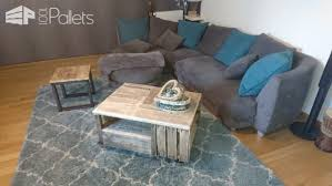 pallet crate furniture. Pallet Crate Coffee Table DIY Video TutorialsPallet Tables Furniture