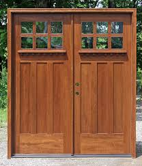 Remarkable Craftsman Double Front Door with Craftsman Style Double