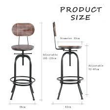Bar Stool Size Chart Counter Stool Height Guide Uknatura Org