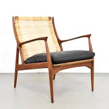 rare teak lounge chair by erik andersen palle pedersen for horsnaes møbler