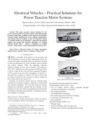 simple electric motor design. (PDF) Electrical Vehicles - Practical Solutions. Simple Electric Motor Design