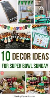 Cheap Super Bowl Decorations 60 Delicious Super Bowl Recipes 60 Creative Super Bowl Decorations 7