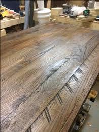 Custom Sized Reclaimed Wood Desktops