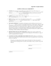 sublease contract template south carolina sublease agreement template 791 x 1024 contract 7
