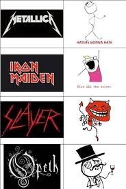 Heavy Metal Bands and Their Memes | SMNnews.com | Heavy Metal ... via Relatably.com