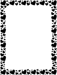 Microsoft Word Hearts Free Heart Borders Clip Art Page Borders And Vector Graphics