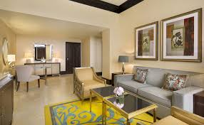Luxury Hotel Suites Abu Dhabi The RitzCarlton Abu Dhabi Grand - Venetian two bedroom suite