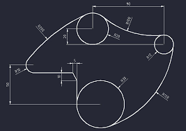 This tutorial shows how to created dotted line in autocad step by step from scratch. How To Draw Tangent Arcs Between Two Circles In Autocad Grabcad Tutorials