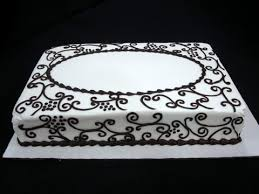 black fondant sheets 12 sheet cakes black white and gold photo red black and white