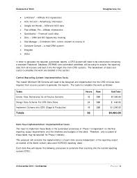 It Sow Template Statement Of Work Sow Template For It Projects D Threestrands Co