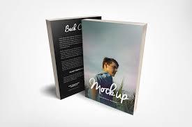 6 x 9 front back paperback book mockup