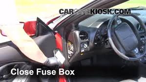 interior fuse box location 1993 2002 pontiac firebird 2001 interior fuse box location 1993 2002 pontiac firebird 2001 pontiac firebird 3 8l v6 convertible